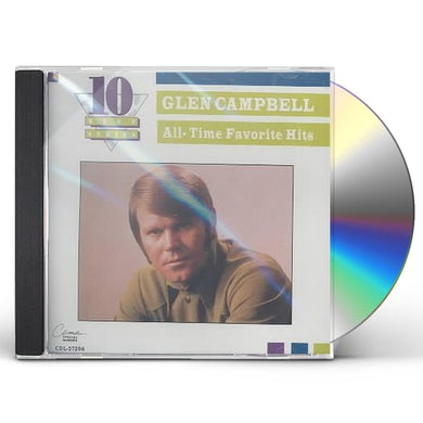 Glen Campbell ALL-TIME FAVORITE HITS CD
