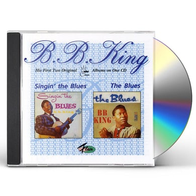 B.B. King SINGIN' THE BLUES & THE BLUES CD