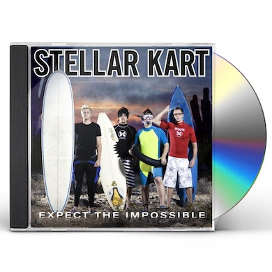 Stellar Kart EXPECT THE IMPOSSIBLE CD