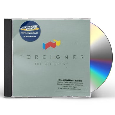 DEFINITIVE FOREIGNER (INT'L VERSION) CD