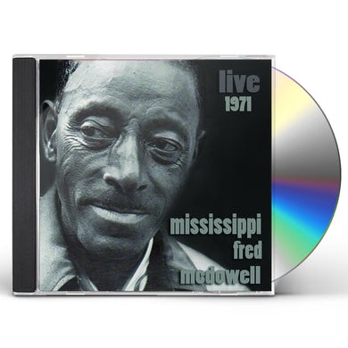 Fred Mcdowell LIVE 1971 CD