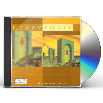 Mezzoforte OBSERVATIONS CD