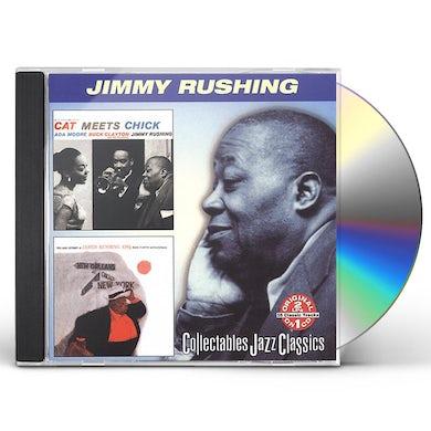 Jimmy Rushing CAT MEETS CHICK / JAZZ ODYSSEY JAMES RUSHING ESQ CD