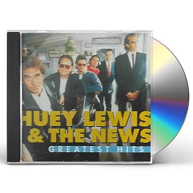 Huey Lewis & The News GREATEST HITS CD