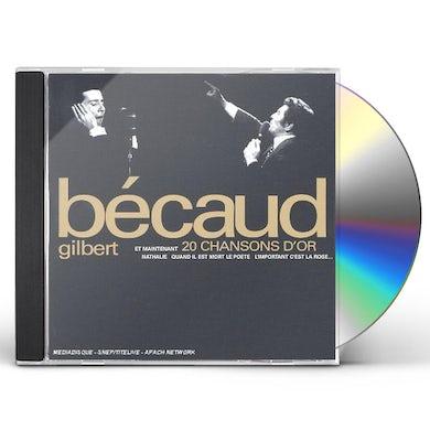 Gilbert Becaud 20 CHANSONS D'OR CD