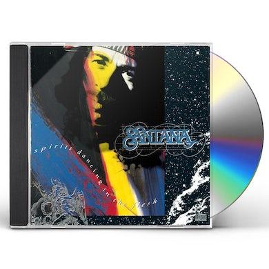 Santana SPIRITS DANCING IN THE FLESH CD
