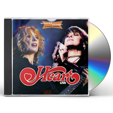 Heart LIVE ON SOUNDSTAGE (CLASSIC SERIES) CD