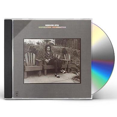 Shuggie Otis INSPIRATION INFORMATION CD