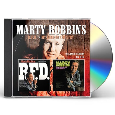 Marty Robbins R.F.D. / MY KIND OF COUNTRY CD