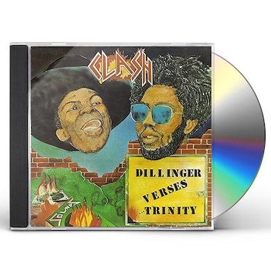 DILLINGER VERSES TRINITY CLASH CD