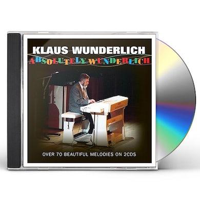 Klaus Wunderlich ABSOLUTELY WUNDERLICH CD