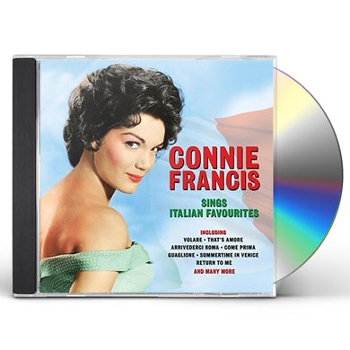 Connie Francis SINGS ITALIAN FAVOURITES CD