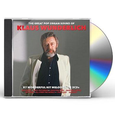 Klaus Wunderlich GREAT POP ORGAN SOUND OF CD