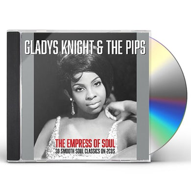 Gladys Knight & The Pips EMPRESS OF SOUL CD
