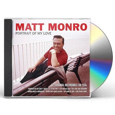 Matt Monro PORTRAIT OF MY LOVE CD