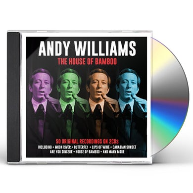 Andy Williams HOUSE OF BAMBOO CD