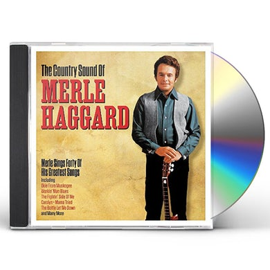 Merle Haggard COUNTRY SOUND OF CD