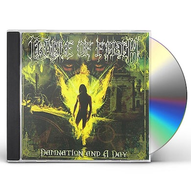 Cradle Of Filth DAMNATION & A DAY CD