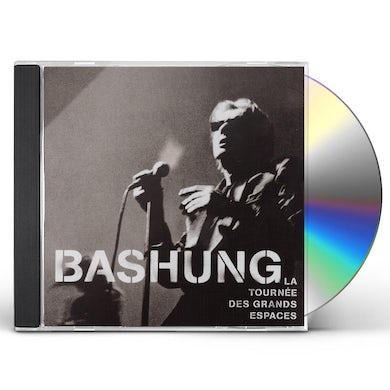 Alain Bashung TOURNEE DES GRANDS ESPACES CD