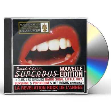 Superbus POP N GUM CD