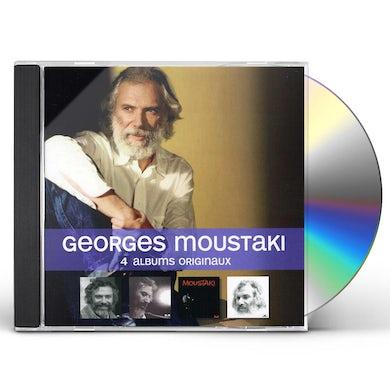 Georges Moustaki 4 ALBUMS ORIGINAUX CD