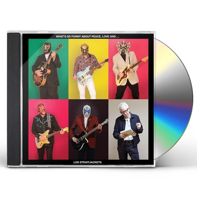 Los Straitjackets WHAT'S SO FUNNY ABOUT PEACE LOVE & LOS CD