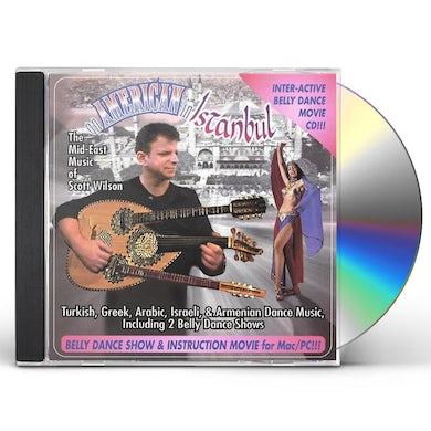 Scott Wilson AMERIC IN ISTBUL BELLY DCE MUSIC CD
