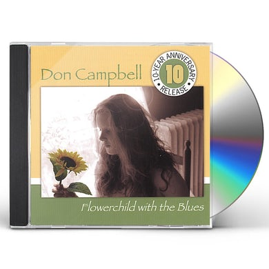 Don Campbell FLOWERCHILD WITH THE BLUES CD