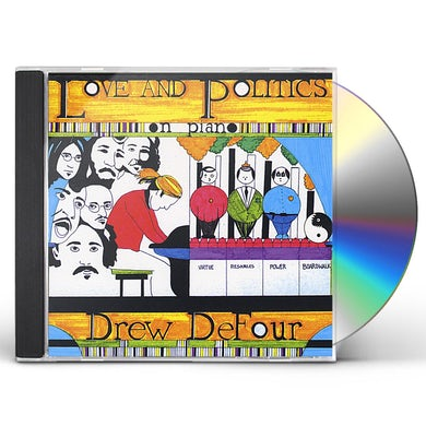 Drew De Four LOVE & POLITICS ON A PIANO CD