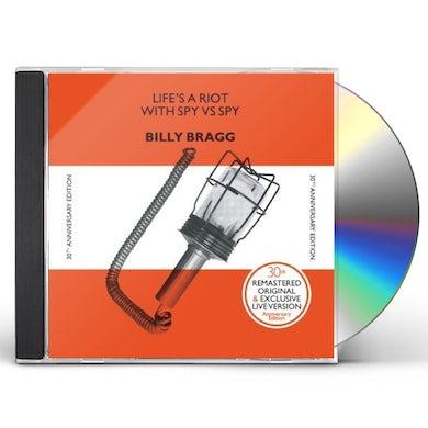 Billy Bragg LIFE'S A RIOT (30TH ANNIVERSARY EDITION) CD