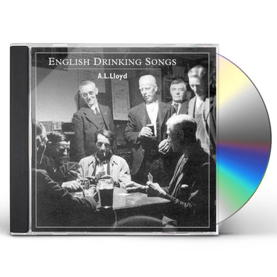 A.L. Lloyd ENGLISH DRINKING SONGS CD