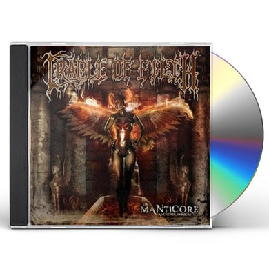 Cradle Of Filth MANTICORE & OTHER HORRORS CD