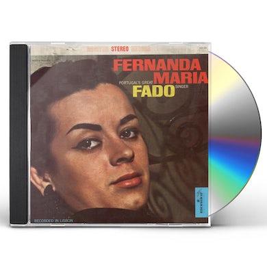 Fernanda Maria PORTUGAL'S GREAT FADO SINGER CD