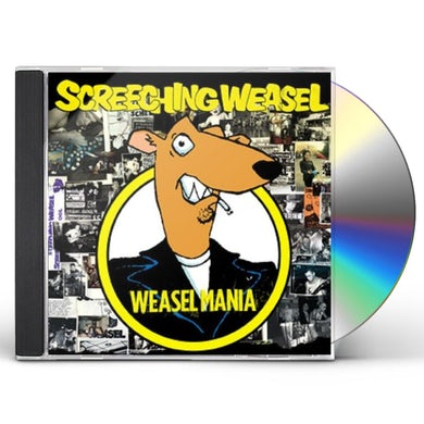 Screeching Weasel WEASEL MANIA CD
