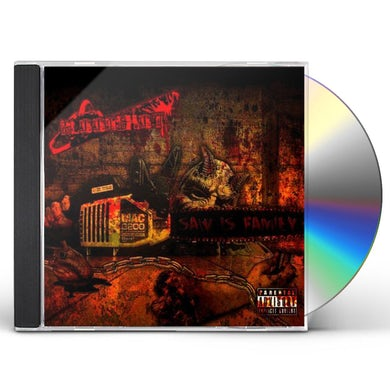 BLOODSHOT SAW IS FAMILY CD