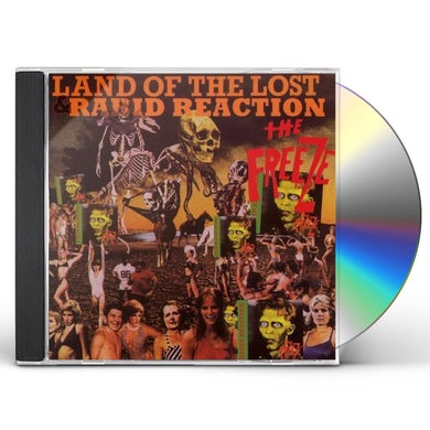 The Freeze LAND OF THE LOST / RABID REACTION CD