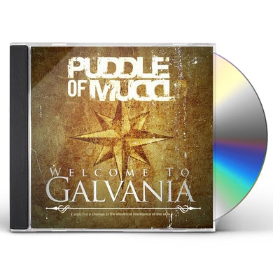 Puddle Of Mudd Welcome To Galvania CD