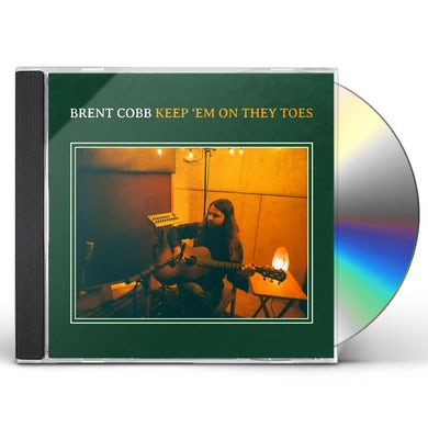 Brent Cobb Keep 'em On They Toes CD