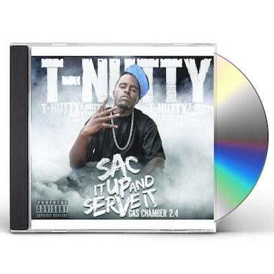 T-Nutty SAC IT UP & SERVE IT CD
