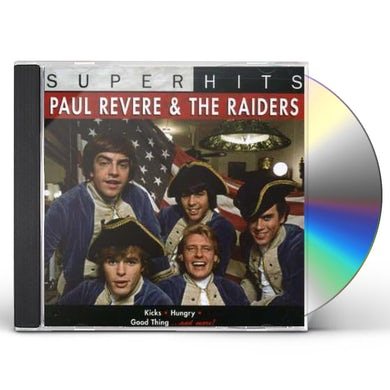 Paul Revere & Raiders SUPER HITS CD
