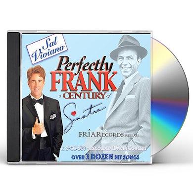 Sal Viviano PERFECTLY FRANK: A CENTURY OF SINATRA CD