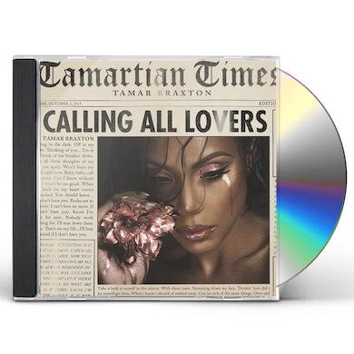 Tamar Braxton Calling All Lovers CD