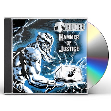Thor HAMMER OF JUSTICE CD