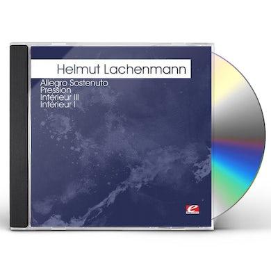Helmut Lachenmann LACHENMANN: ALLEGRO SOSTENUTO PRESSION CD