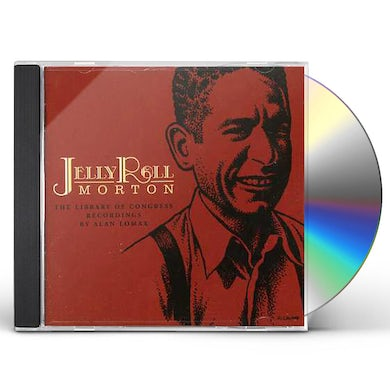 Jelly Roll Morton LIBRARY OF CONGRESS RECORDINGS CD