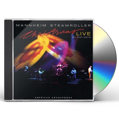 Mannheim Steamroller CHRISTMAS LIVE CD
