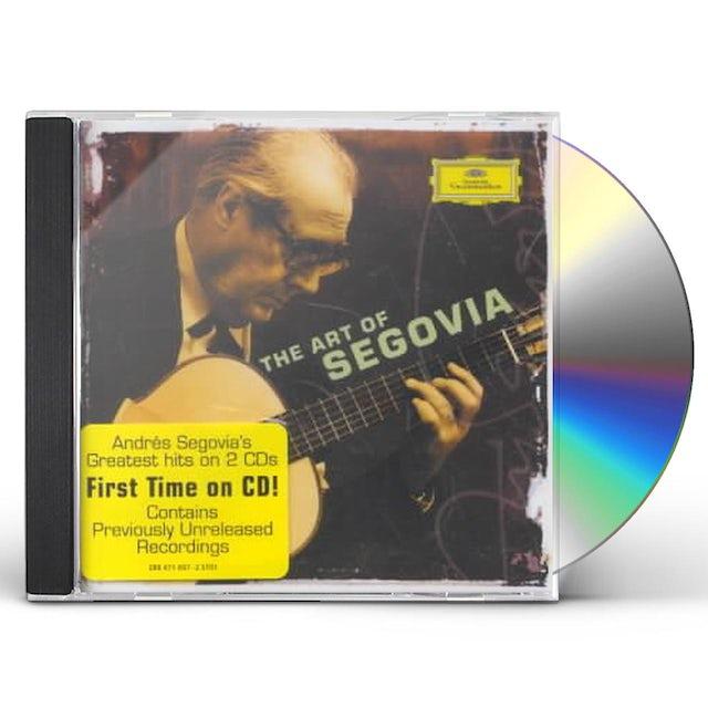 Andres Segovia ART OF SEGOVIA CD