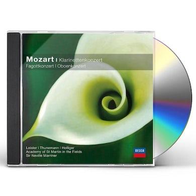 W.A. Mozart KLARINETT FAGOTT OBOENKONZERT/LEISTER/THUNEMANN/HO CD