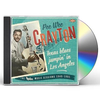 Pee Wee Crayton TEXAS BLUES JUMPIN IN LOS ANGE CD