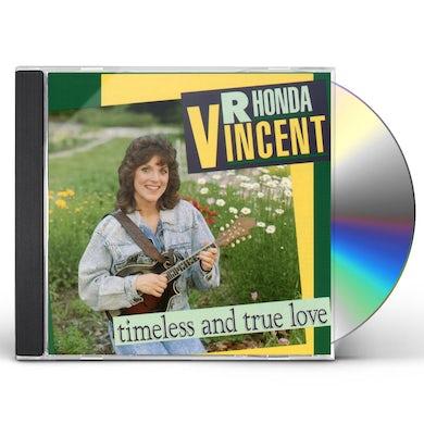 Rhonda Vincent TIMELESS & TRUE LOVE CD